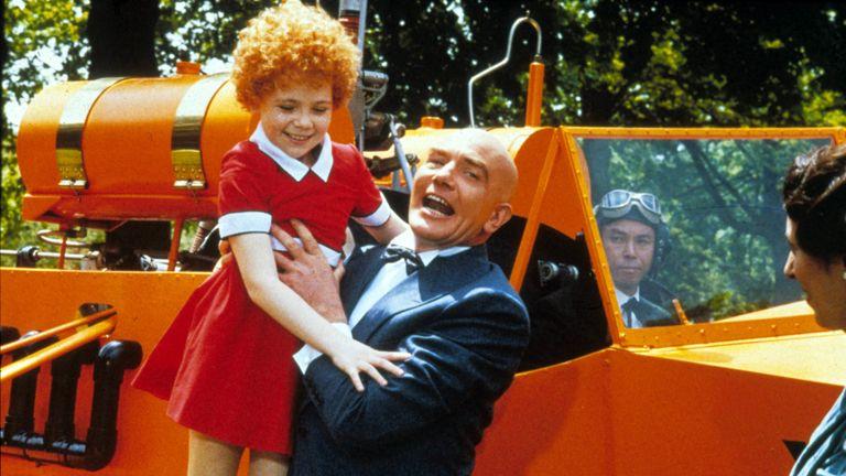 Albert Finney played Daddy Warbucks in Annie