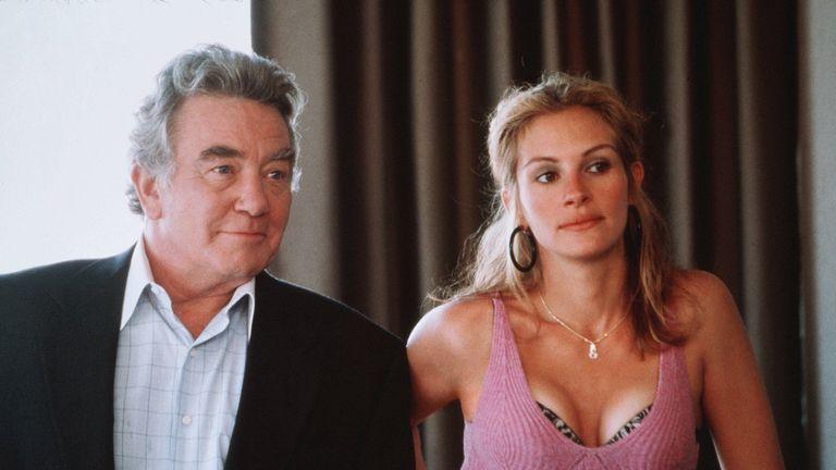 Albert Finney starred alongside Julia Roberts in Erin Brockovich