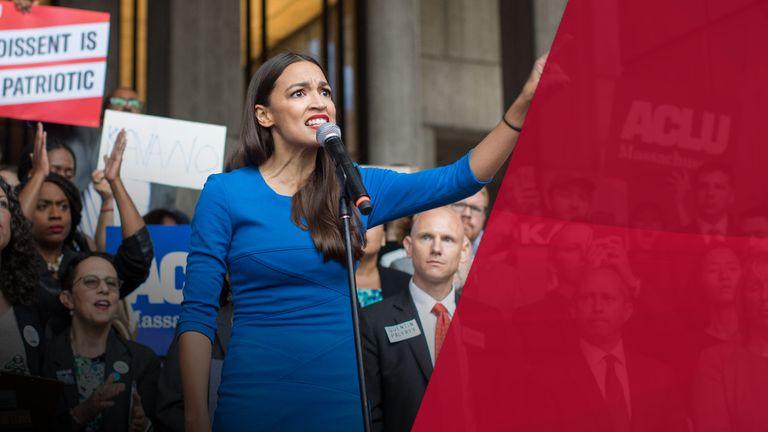 Democratic congresswoman Alexandria Ocasio-Cortez has found plenty of traction among young voters