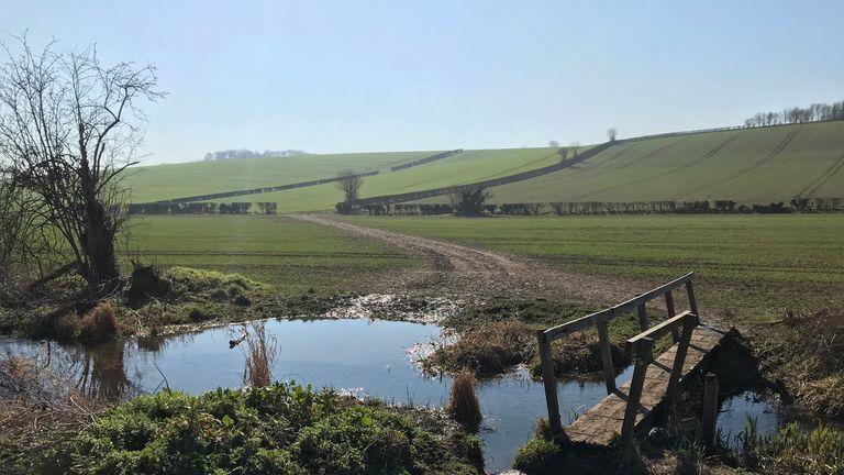 The sunny countryside near Amersham, Buckinghamshire. Pic: Richard Boardman