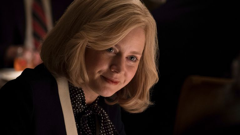 Amy Adams stars as Lynne Cheney in Adam McKay's Vice, alongside Christian Bale. Pic: Matt Kennedy / Annapurna Pictures