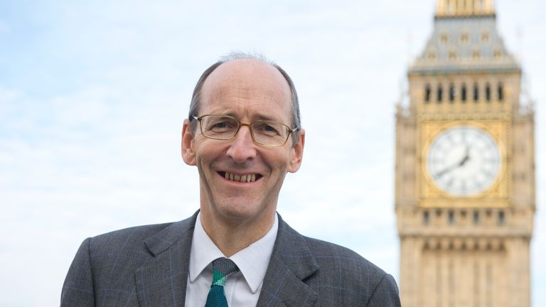 Andrew Tyrie is chairman of the Treasury select committee