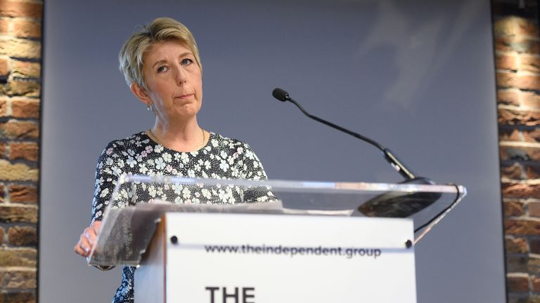 Independent MP Angela Smith