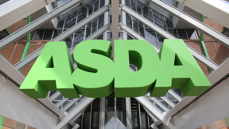 Asda sales figures