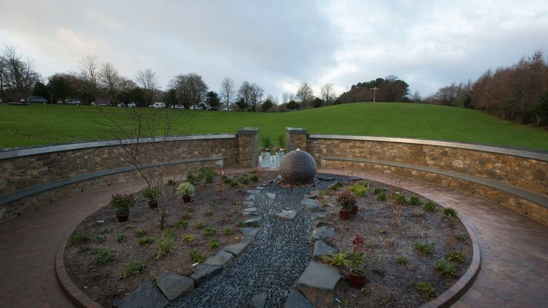 A memorial garden was opened at Mortonhall Crematorium in Edinburgh with 149 plaques of stillborn and dead newborn babies on