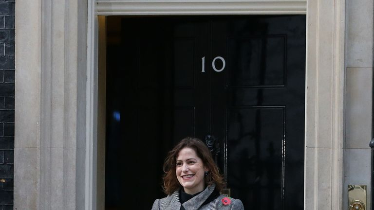 Victoria Atkins took questions in Sajid Javid's place