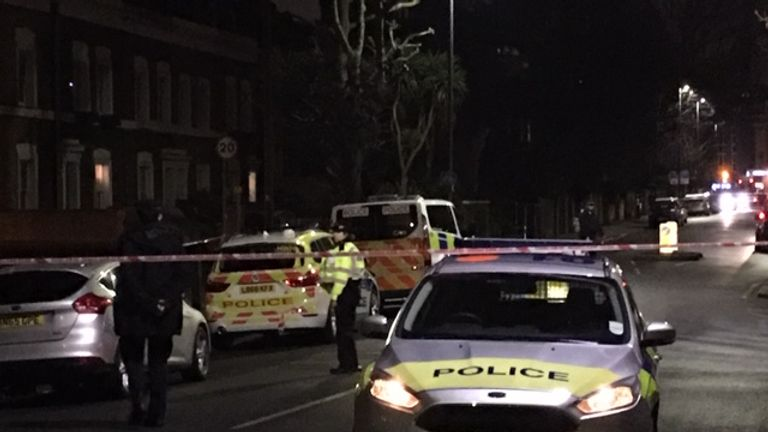 Police were called shortly before 8pm on Tuesday