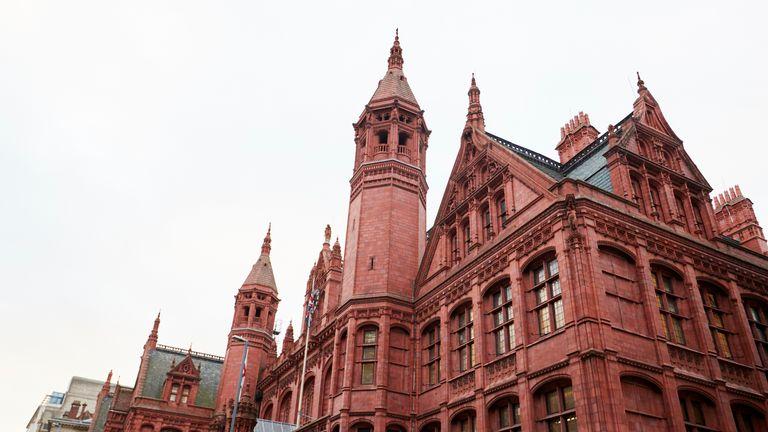 PE teacher Ian Webber is standing trial at Birmingham Magistrates Court