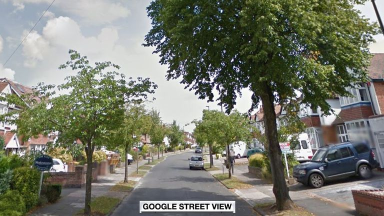 The woman was mugged in Petersfield Road, Hall Green, in Birmingham
