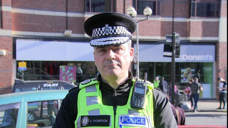 Chief Constable Dave Thompson implemented the new powers
