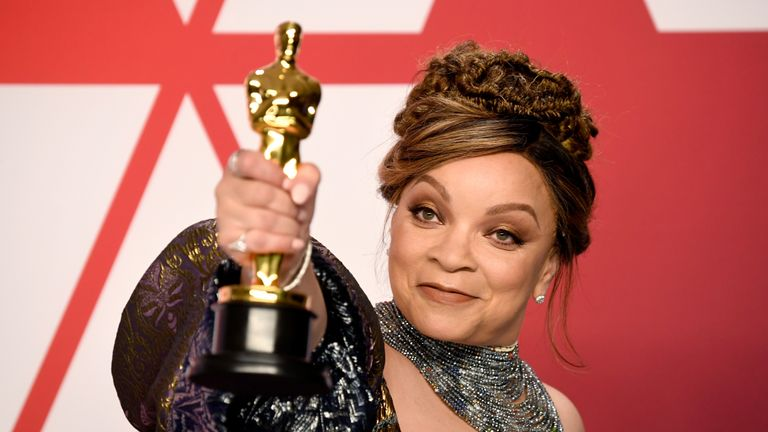 Ruth E. Carter won best costume design for Black Panther