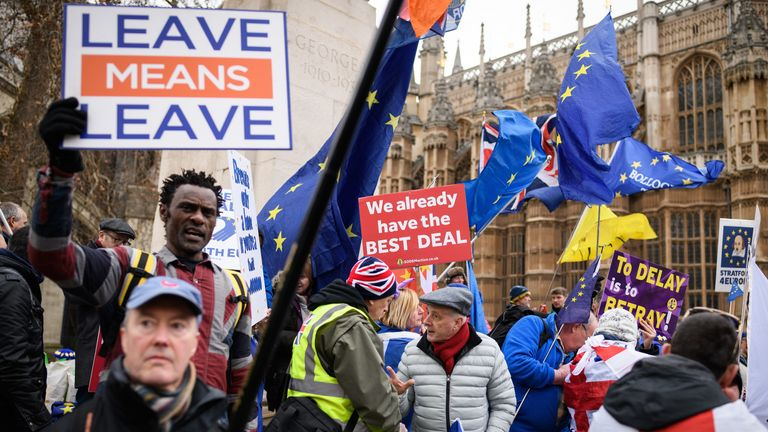 The issue of Brexit has divided the country