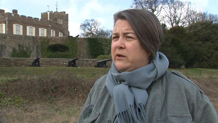 Bridget Chapman of the Kent Refugee Action Network