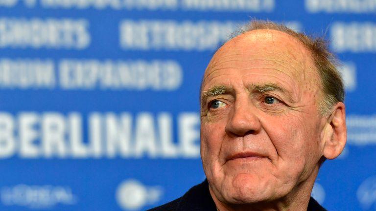 Bruno Ganz at the Berlin film festival in 2017
