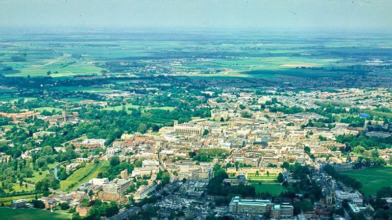 Cambridge, taken on 4 June, 1981