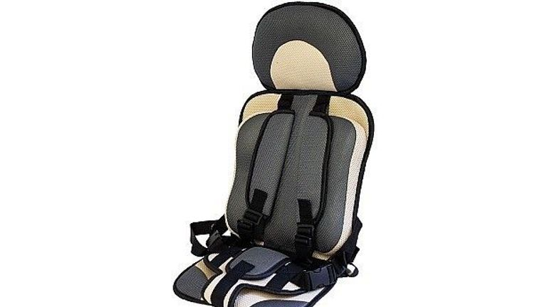 The fabric car seats are not legal to use in the UK