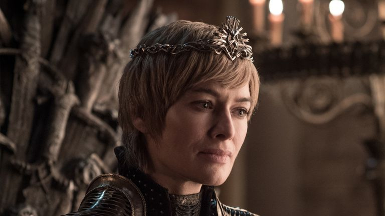 Cersei Lannister has so far not taken the threat of the White Walkers seriously