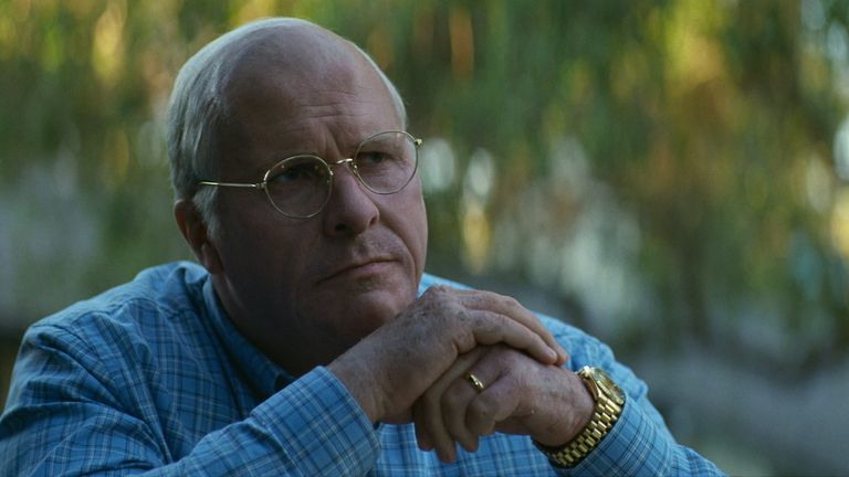 Christian Bale starts as Dick Cheney in Vice. Pic: Matt Kennedy / Annapurna Pictures