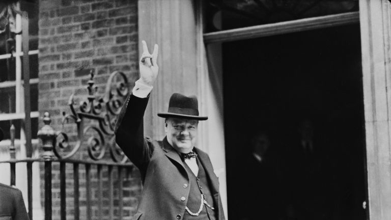 Churchill led a coalition government during WW11