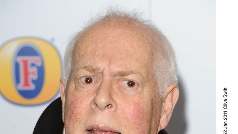 Clive Swift, who starred in Keeping Up Appearances