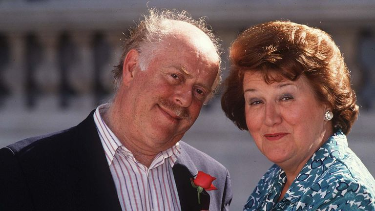 Clive Swift and Dame Patricia Routledge