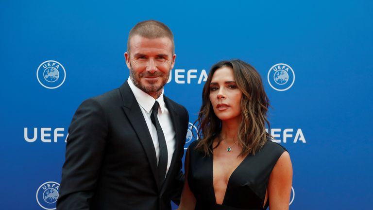 David and Victoria Beckham are worth an estimated £670m net