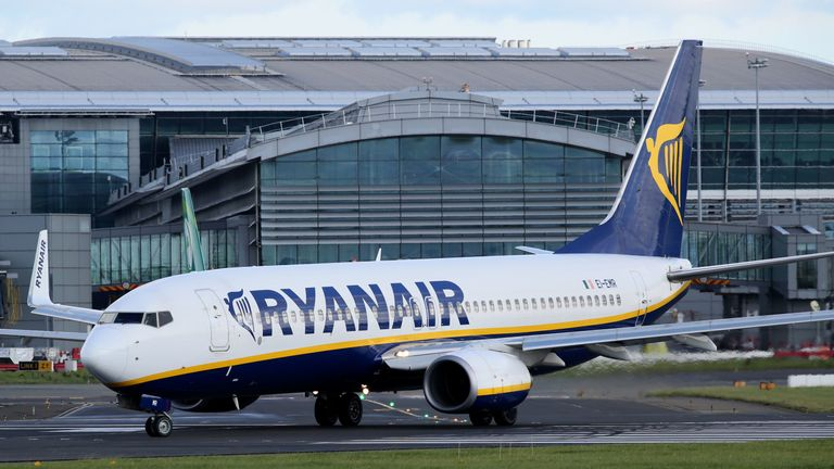 Flights were suspended for around 15 minutes after a drone sighting at Dublin Airport
