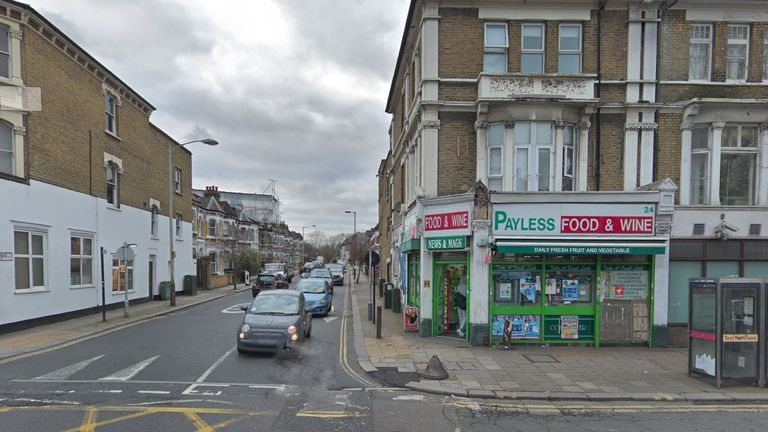 The stabbing happened in East Dulwich