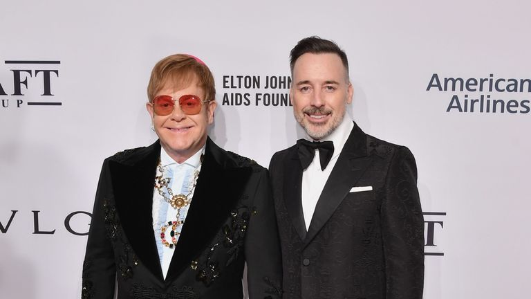 Sir Elton John and his husband David Furnish claimed their information was 'misused'