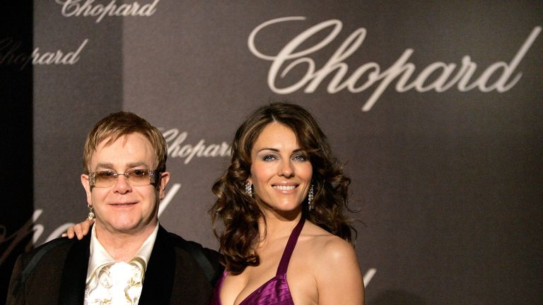 Sir Elton John and Liz Hurley settled phone hacking claims against News Group Newspapers