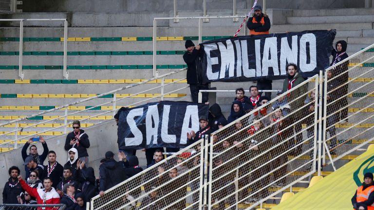 Nantes tribute to Emiliano Sala