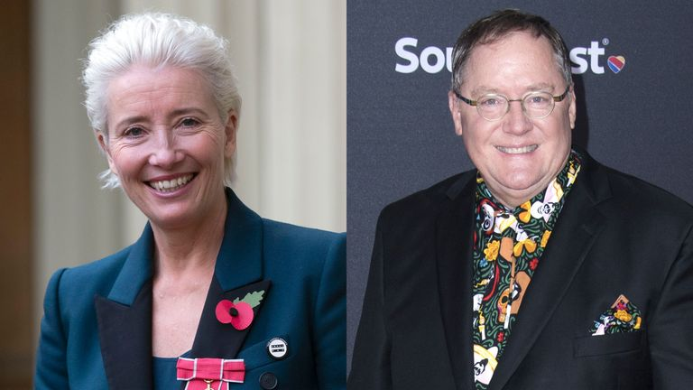 Emma Thompson has refused to work with John Lasseter