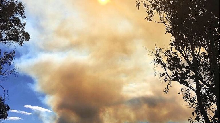 About 150 homes have been evacuated after a huge fire on New Zealand's South Island