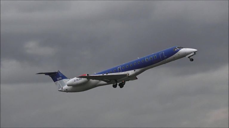 A total of 376 people were employed by East Midlands-based FlyBMI