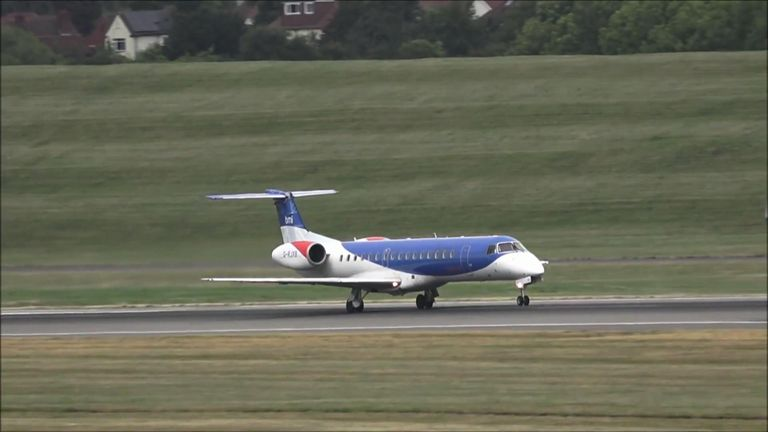 FlyBMI has told passengers that they will need to make alternative arrangements