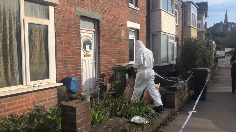 Forensic expert in Bonhay Road, Exeter