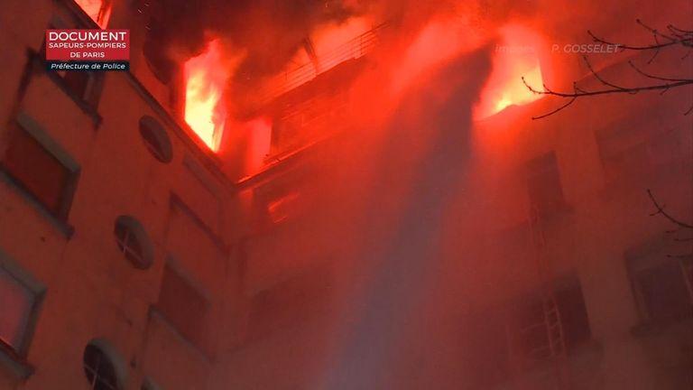 Fire in wealthy Paris neighbourhood kills seven people