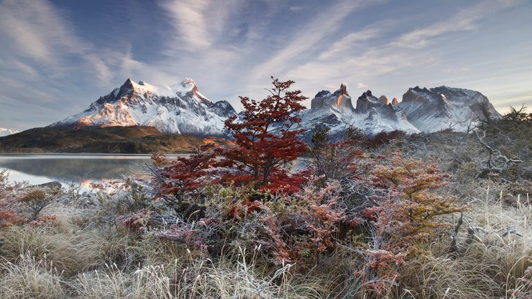 Breathing Spaces winner: Farewell, by Andrea Pozzi, Torres del Paine National Park, Patagonia, Chile