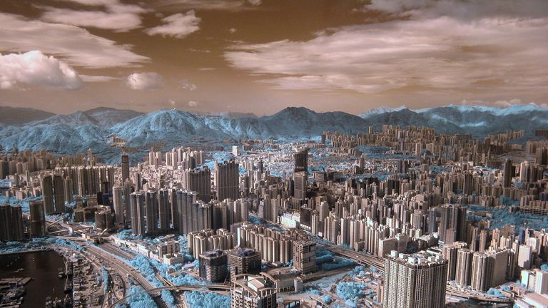 Greening the City winner: Greenbelt, by Halu Chow, Kowloon, Hong Kong, China