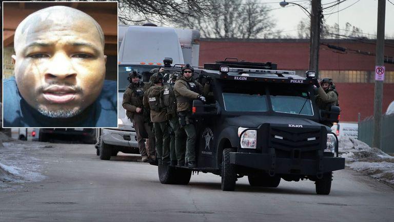Gunman Gary Martin. Pic: LinkedIn