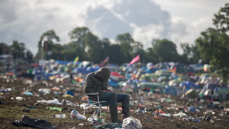 Glastonbury Festival will no longer sell any single use plastic at it's site