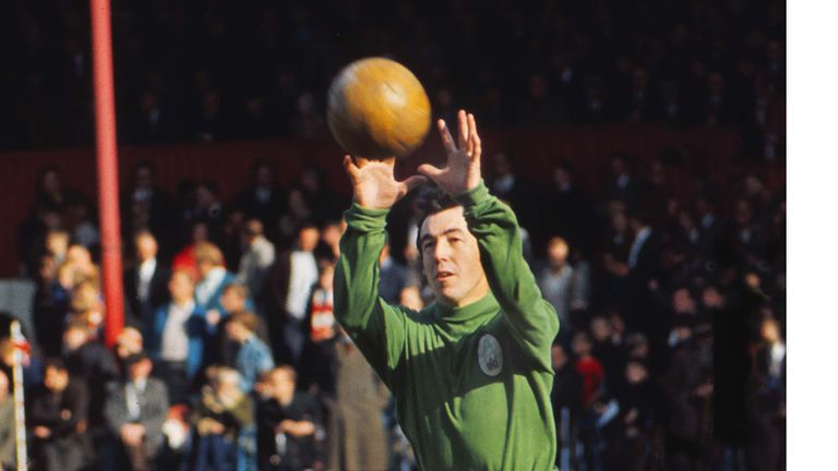 Stoke City's Gordon Banks Gordon Banks 1970/71 season