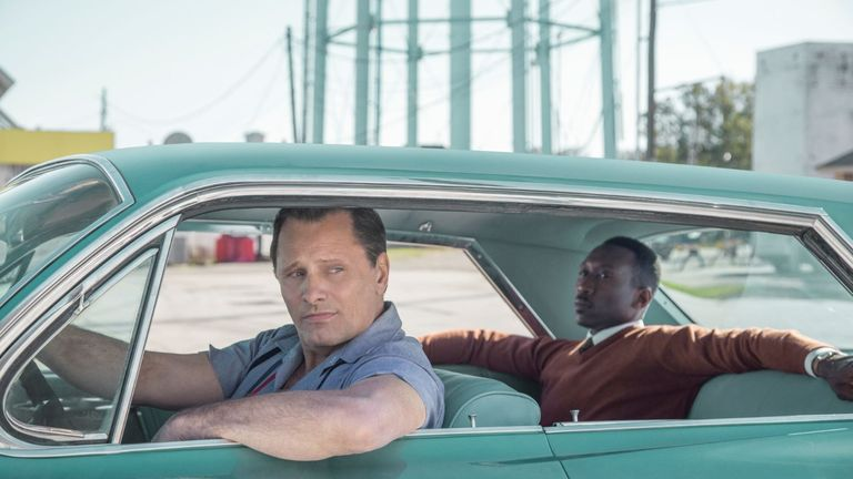 Green Book was one of the favourites for a number of awards