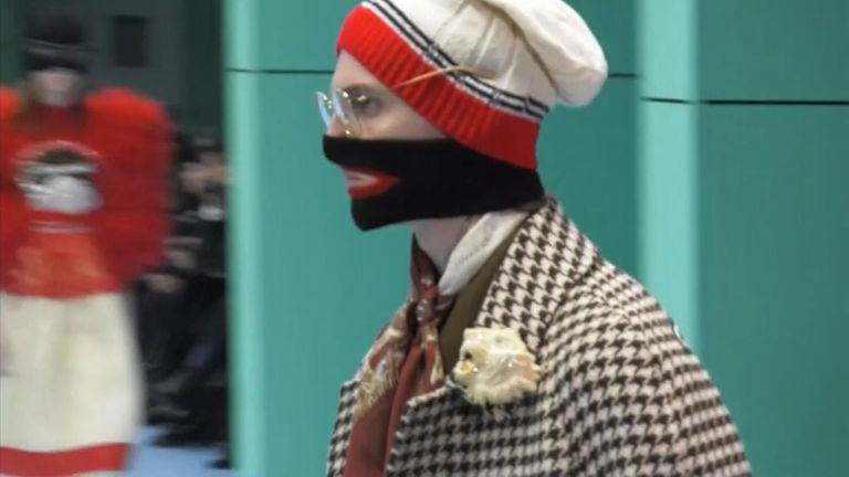 c0594311118 Gucci has apologised for a wool sweater after complaints that it resembled  blackface makeup and said