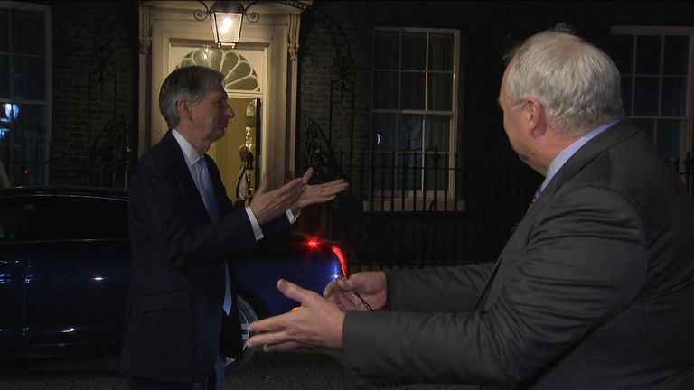 Happy Hammond questions 20 Tory rebels