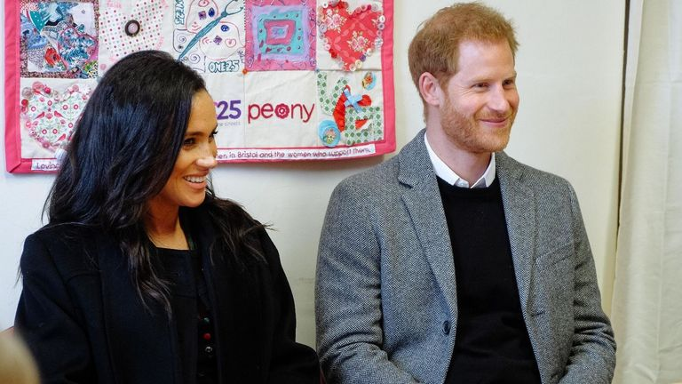 The Duke and Duchess' visit was unannounced. Pic: Kensington Palace/Twitter