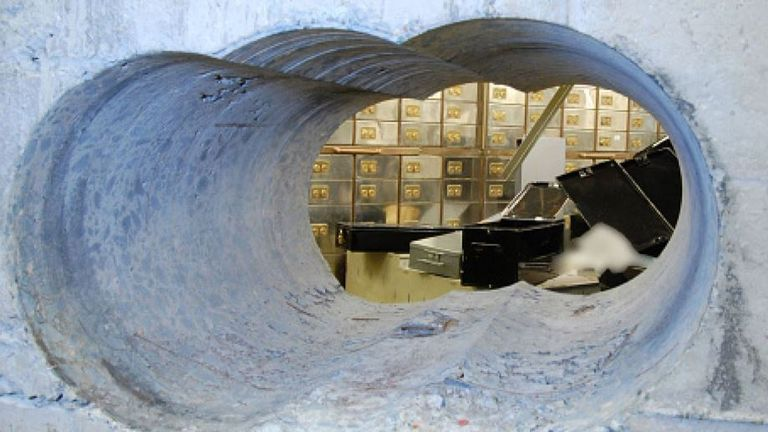 The Hatton Garden Safe deposit raid in 2015