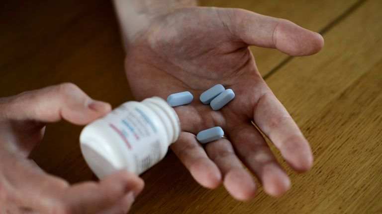 PrEP, a preventative medicine, is not available in Ireland