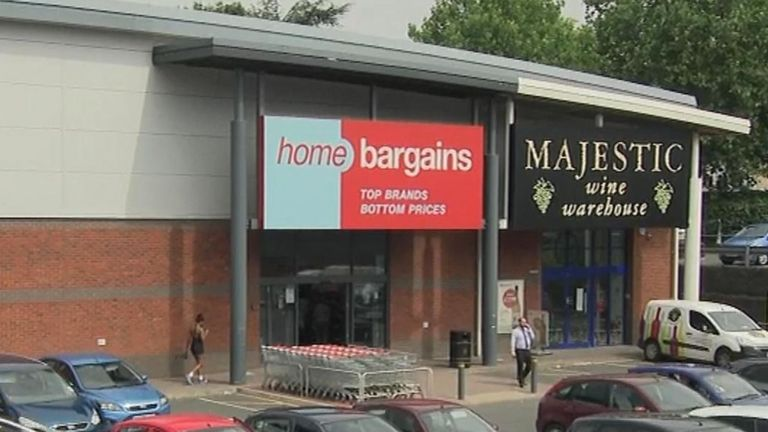 The boy was allegedly targeted at Home Bargains in Worcester