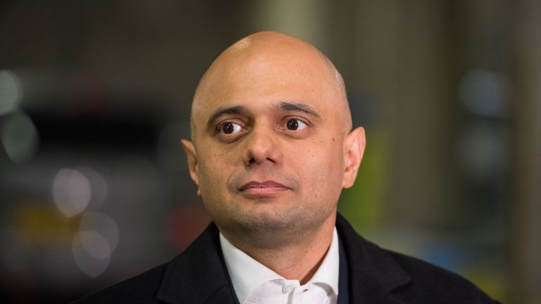 Sajid Javid said Shamima Begum could be prevented from returning to the UK